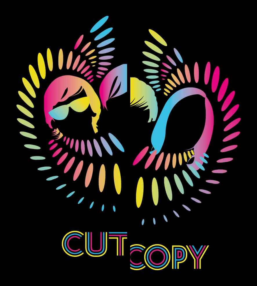 Camiseta - Cut Copy - Lights & Music - Masculino