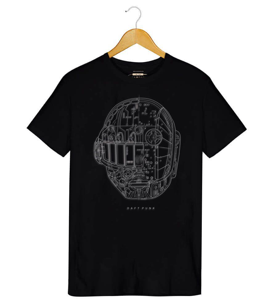 Camiseta - Daft Punk - Ram - Masculino