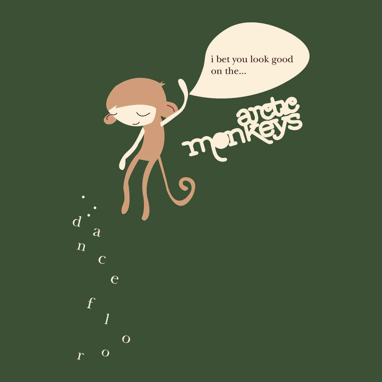 Camiseta - Dance Floor - Artic Monkeys - Masculino