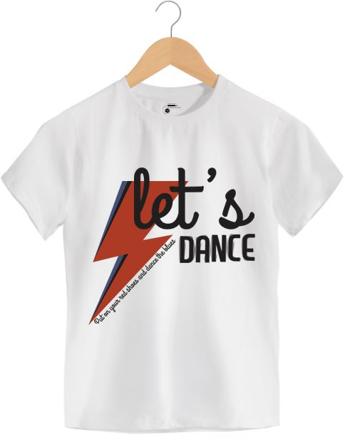 Camiseta - Dance the Blues - David Bowie - Infantil