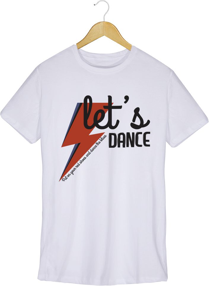 Camiseta - Dance the Blues - David Bowie - Masculino