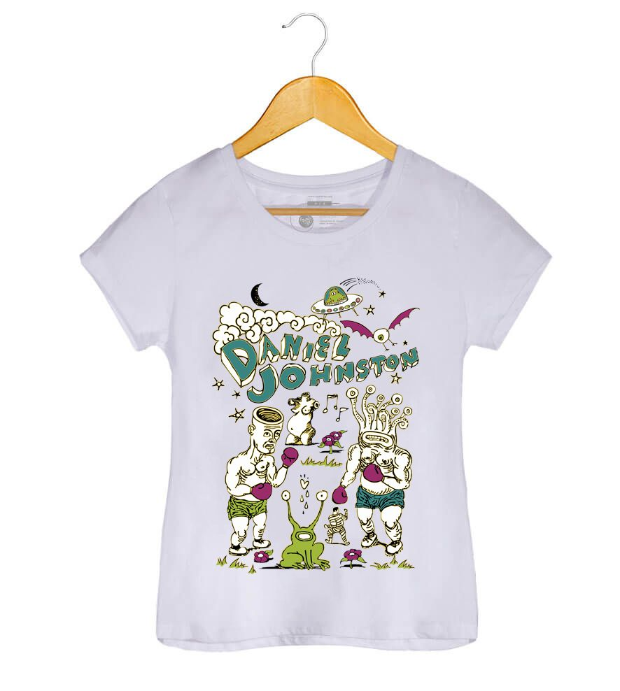 Camiseta - Daniel Johnston - Feminino