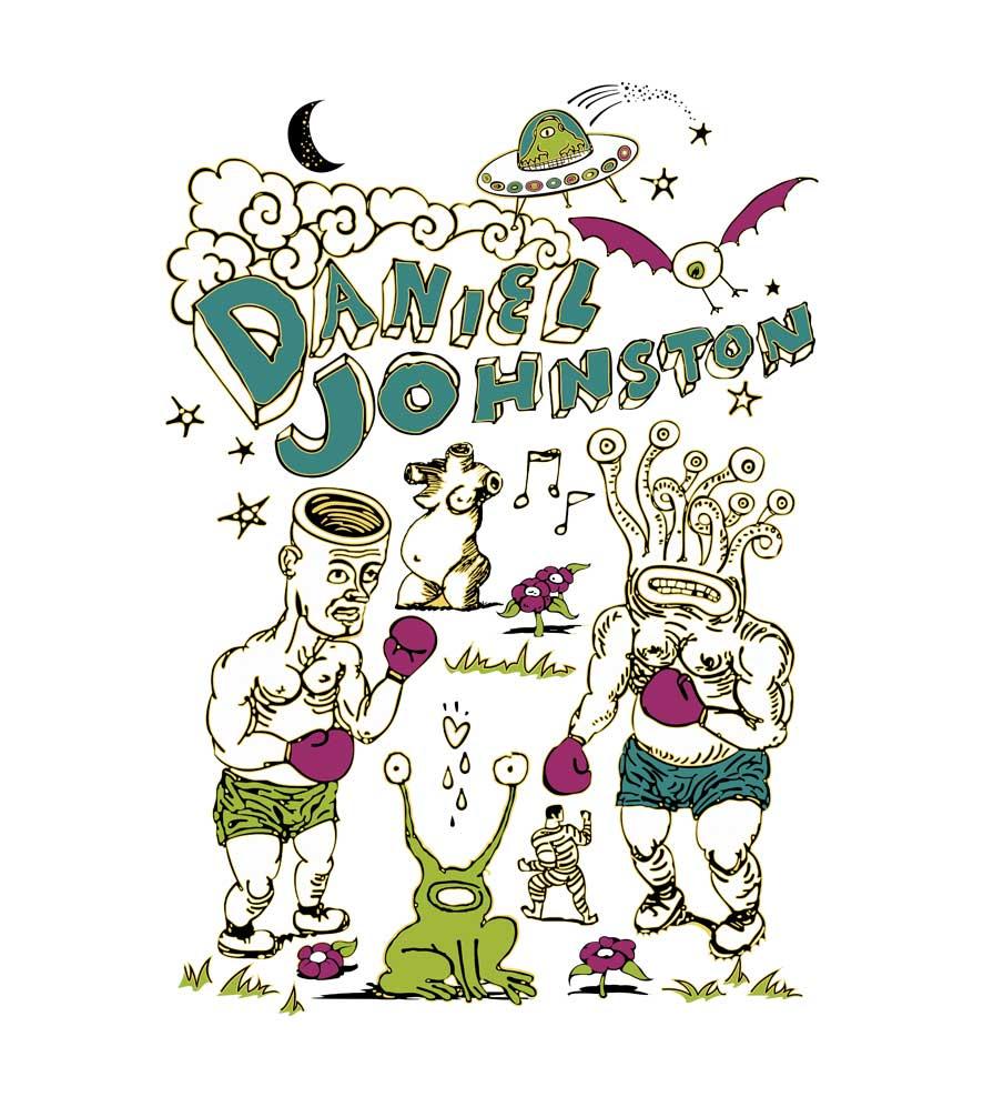 Camiseta Daniel Johnston - Feminino