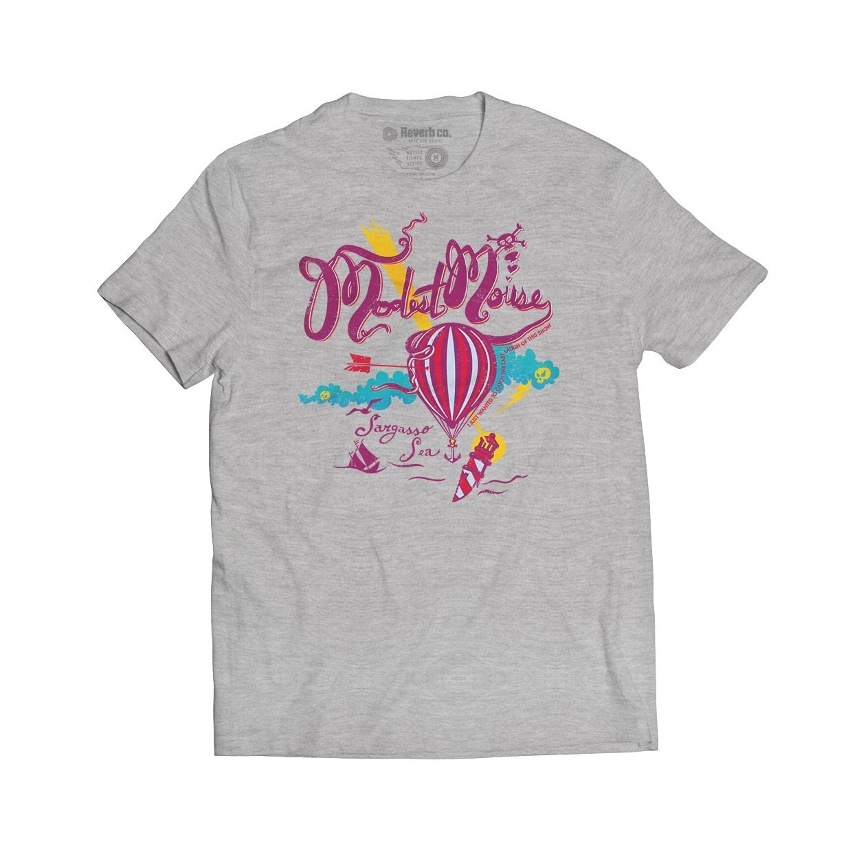 Camiseta Dashboard - Modest Mouse - Masculino