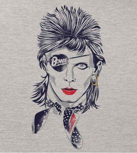 Camiseta - Rebel - David Bowie - Masculino