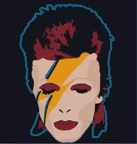 Camiseta - Ziggy Stardust - David Bowie - Masculino
