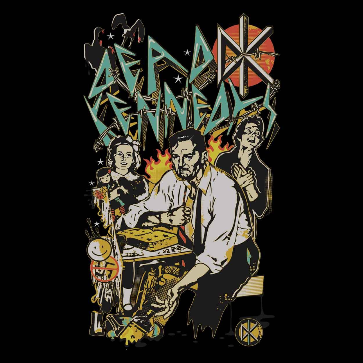 Camiseta Dead Kennedys - Feminino