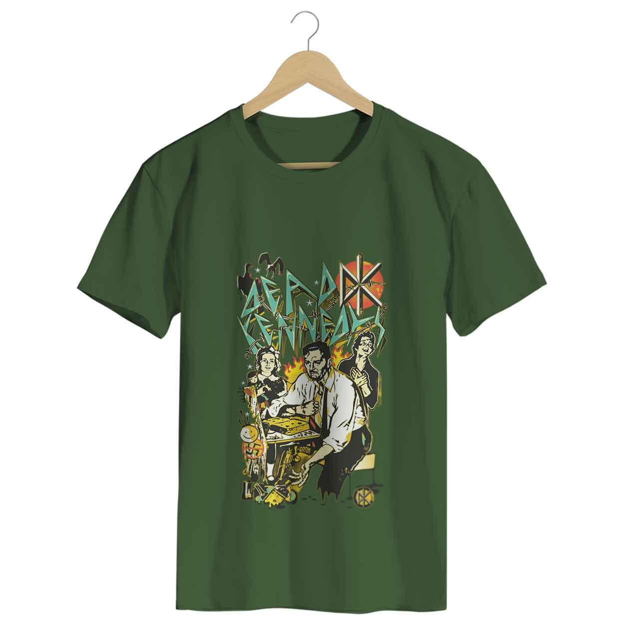 Camiseta - Dead Kennedys - Masculino