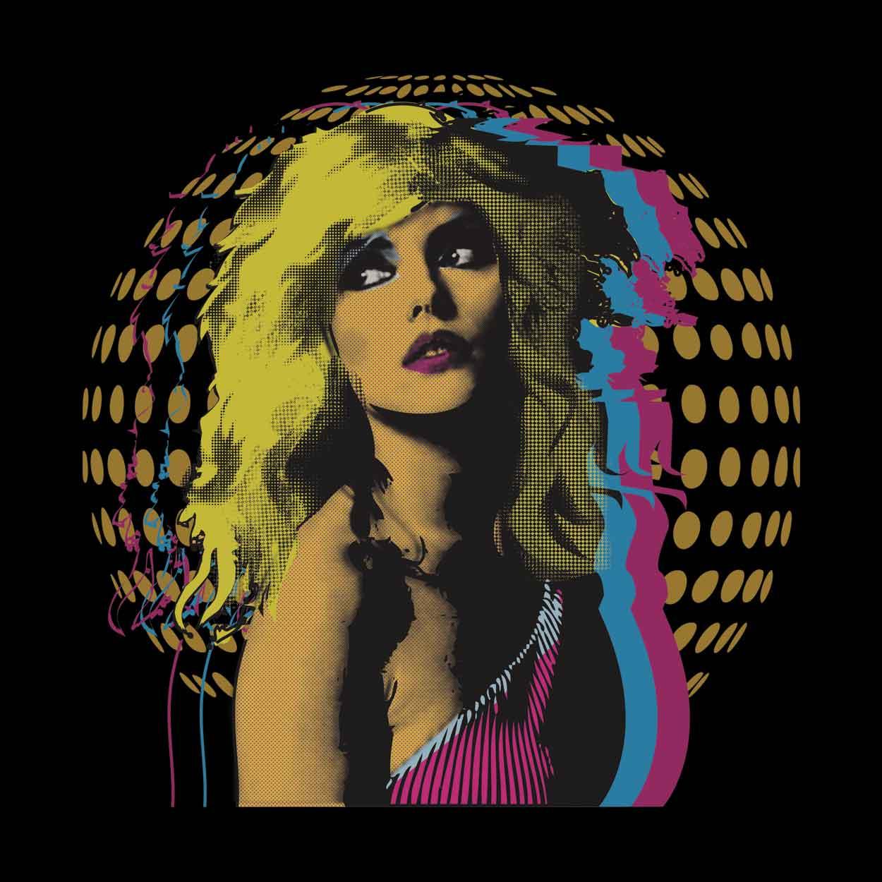 Camiseta - Debbie Harry Disco - Blondie - Masculino