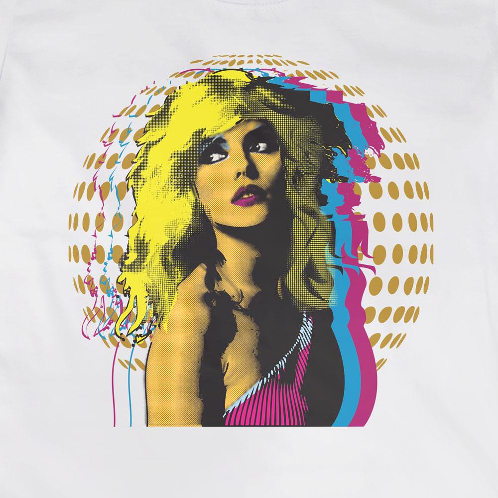 Camiseta Debbie Harry Disco - Blondie - Feminino