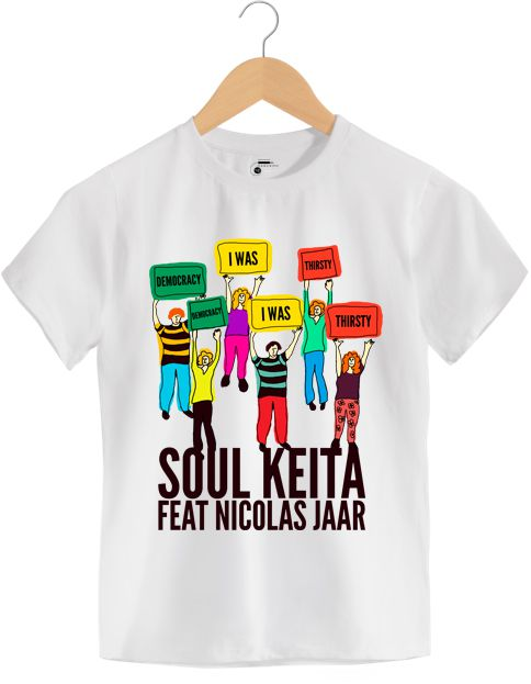 Camiseta - Democracy I Was Thirsty - Soul Keita -  infantil