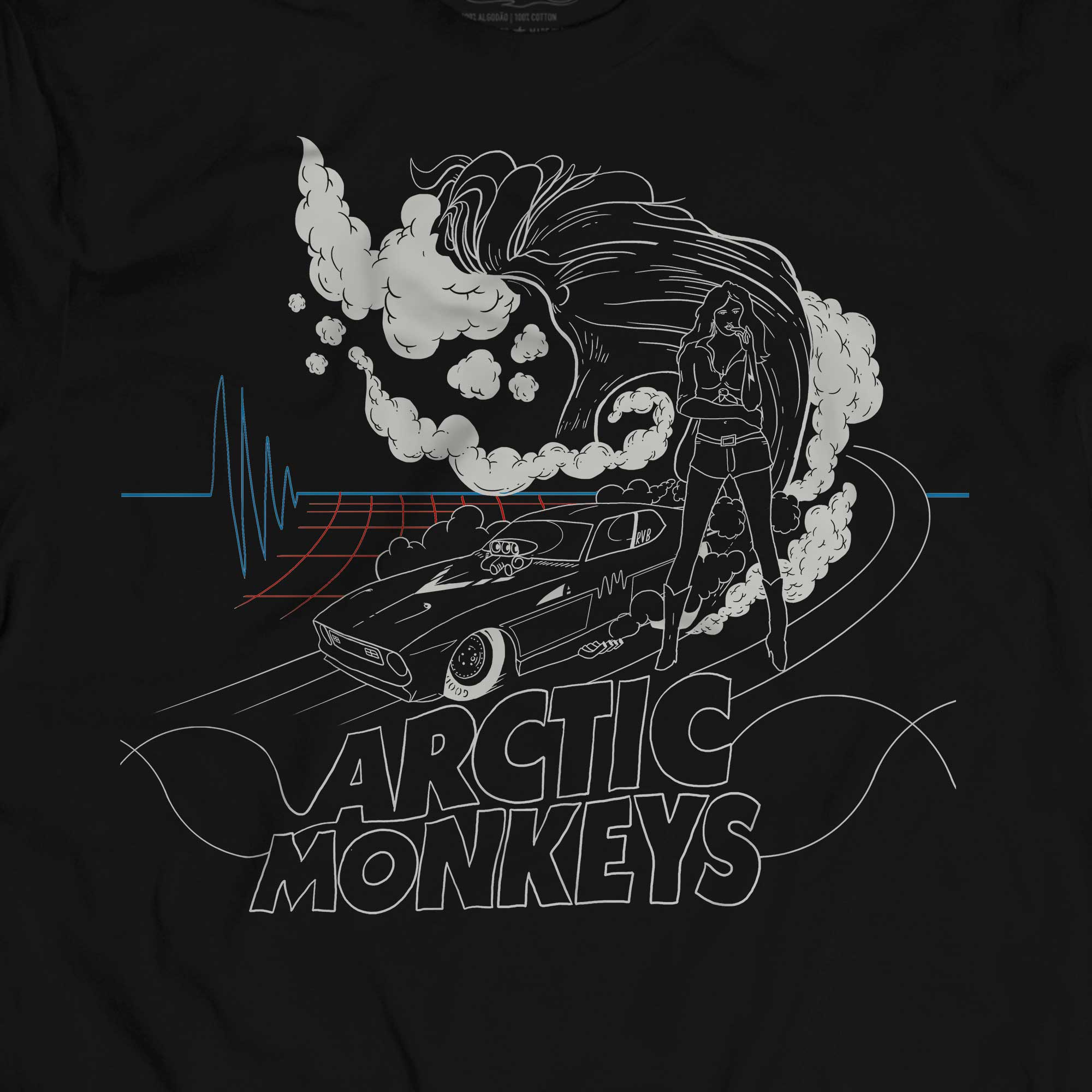 Camiseta Do I Wanna Know - Arctic Monkeys - Masculino