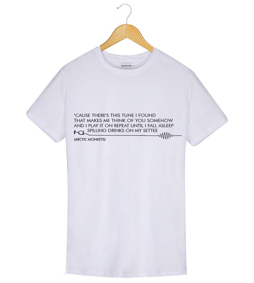 Camiseta - Do I Wanna Know? - Artic Monkeys - Masculino