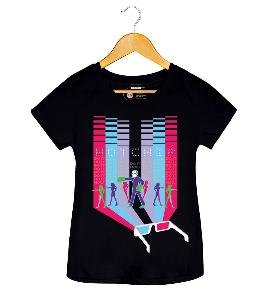 Camiseta - Do It Now - Hot Chip - Feminino