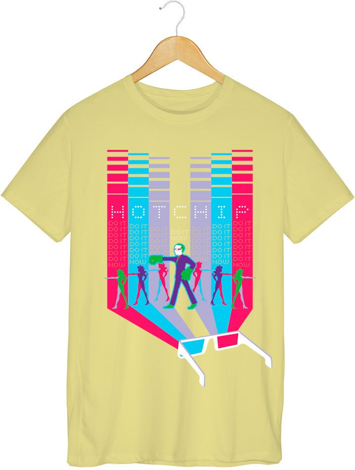 Camiseta - Do It Now - Hot Chip - Masculino