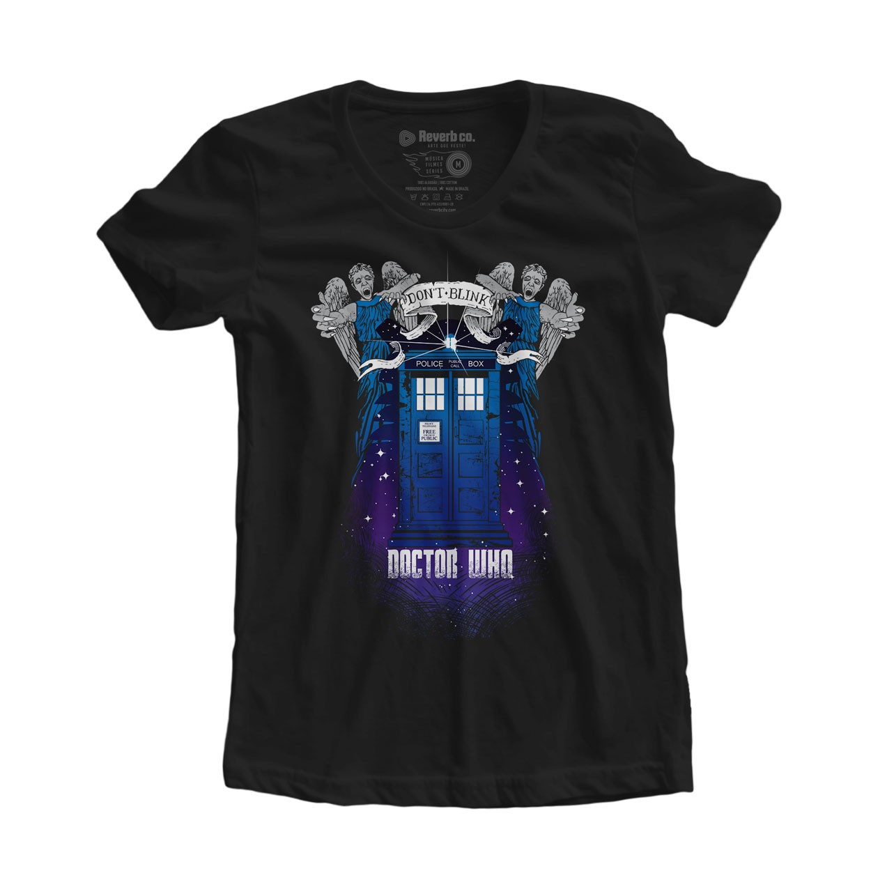 Camiseta Doctor Who - Feminino