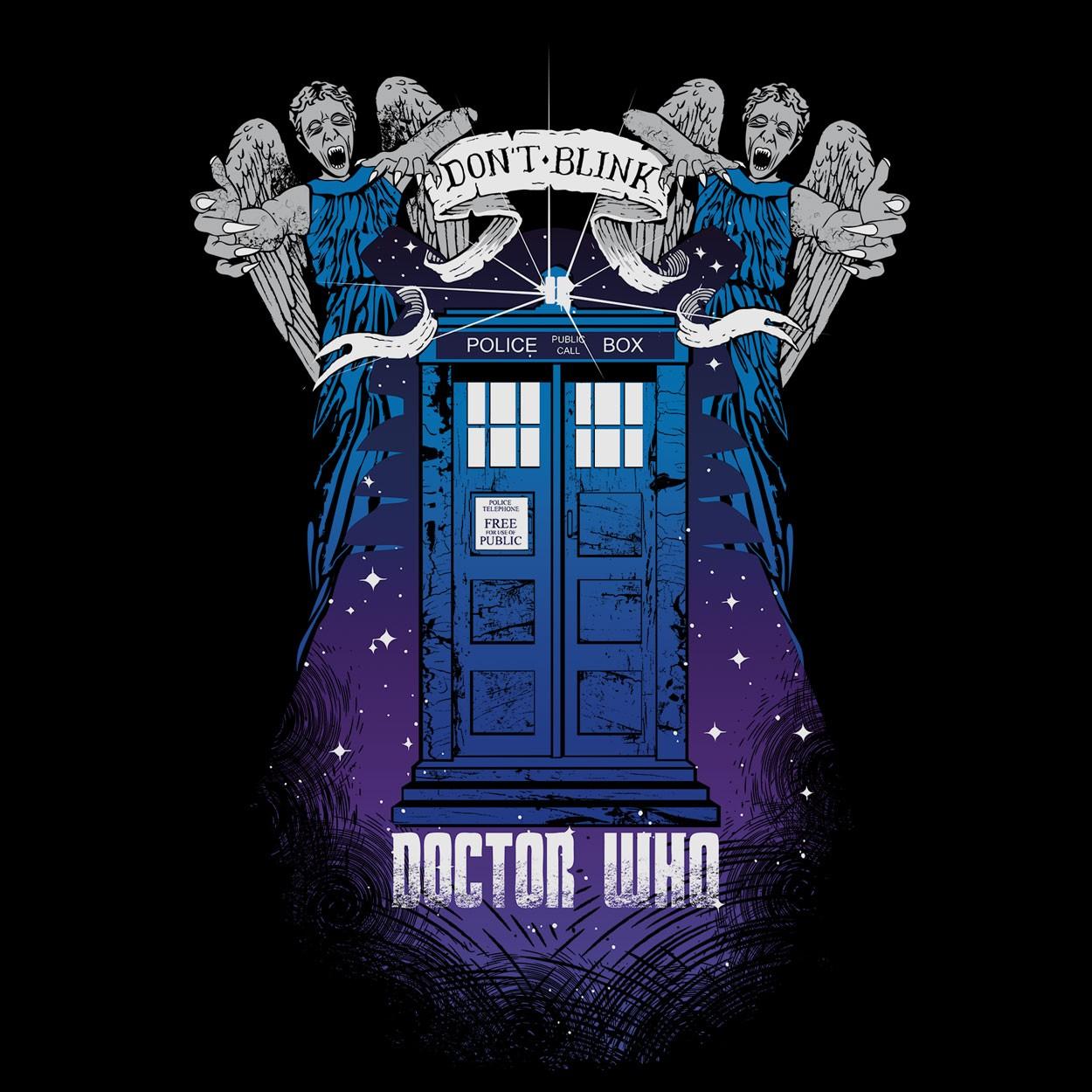 Camiseta Doctor Who - Masculino