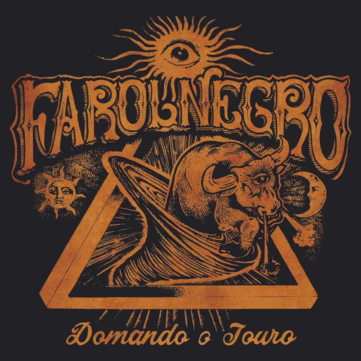 Camiseta - Domando o Touro - Farol Negro -  Feminino