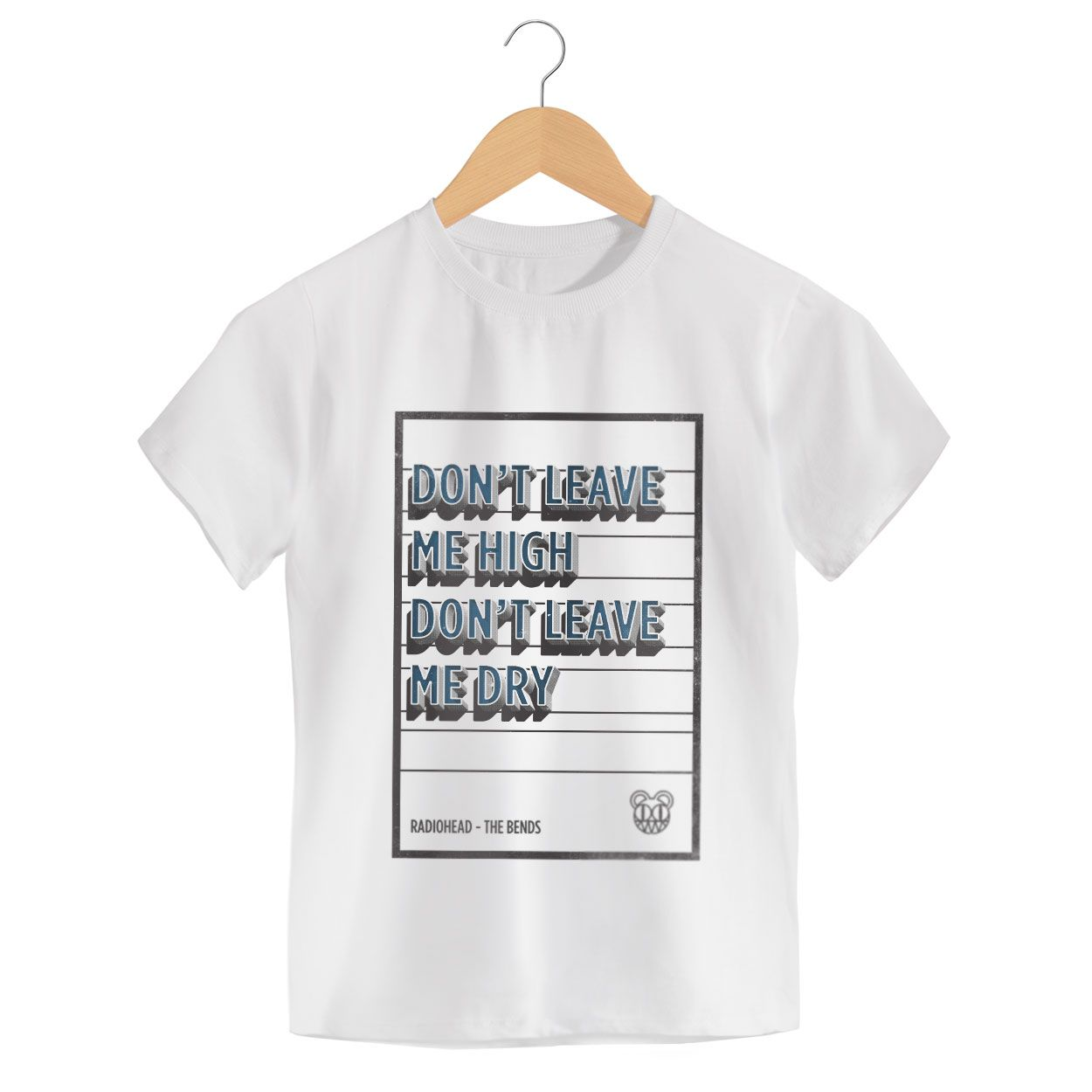 Camiseta - Don't Leave Me High - Radiohead - Infantil