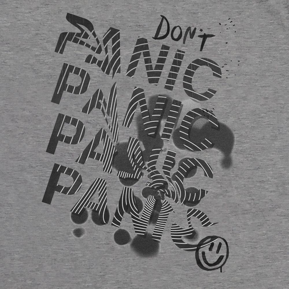 Camiseta Dont Panic - Masculino
