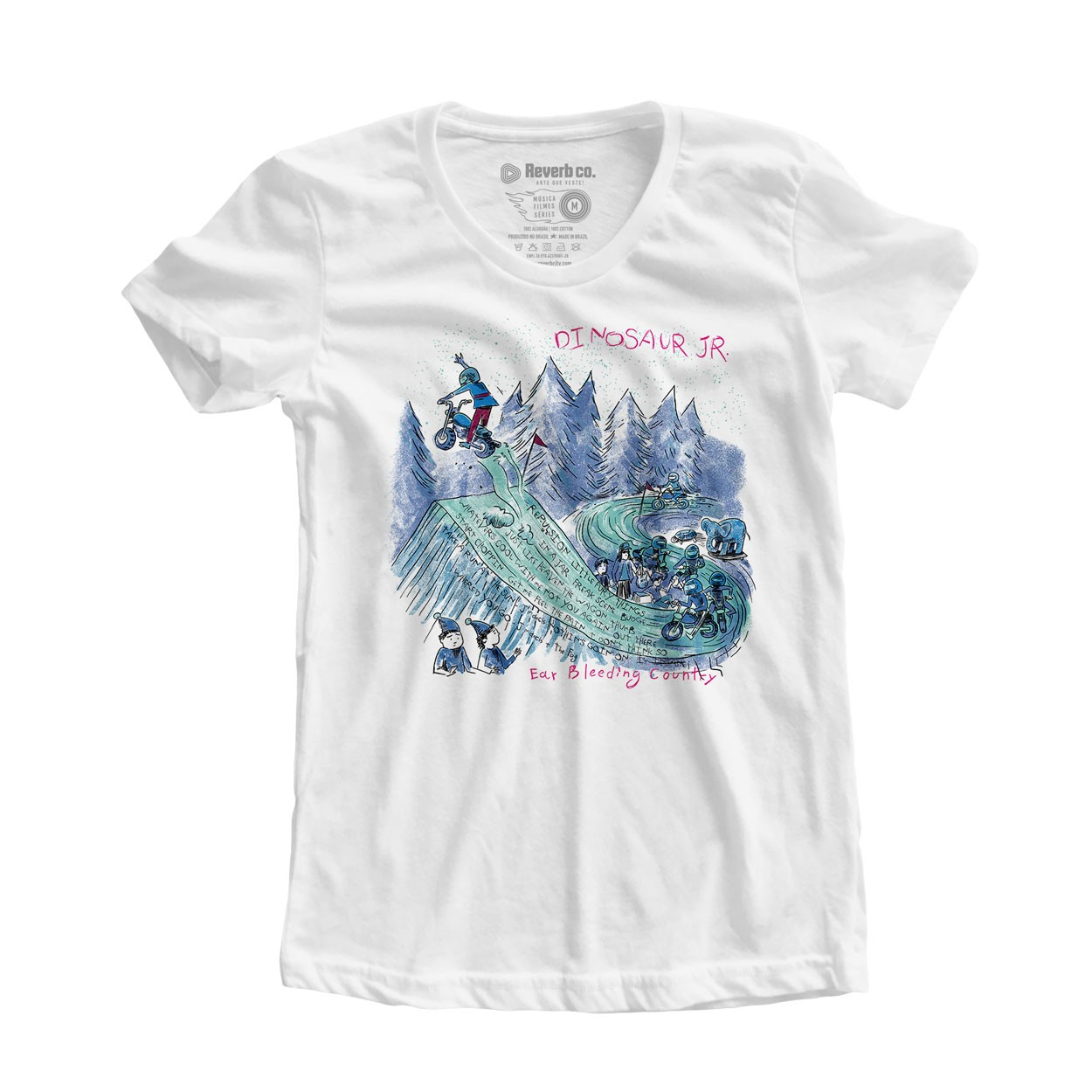 Camiseta Ear Bleeding Country - Dinosaur Jr - Feminino