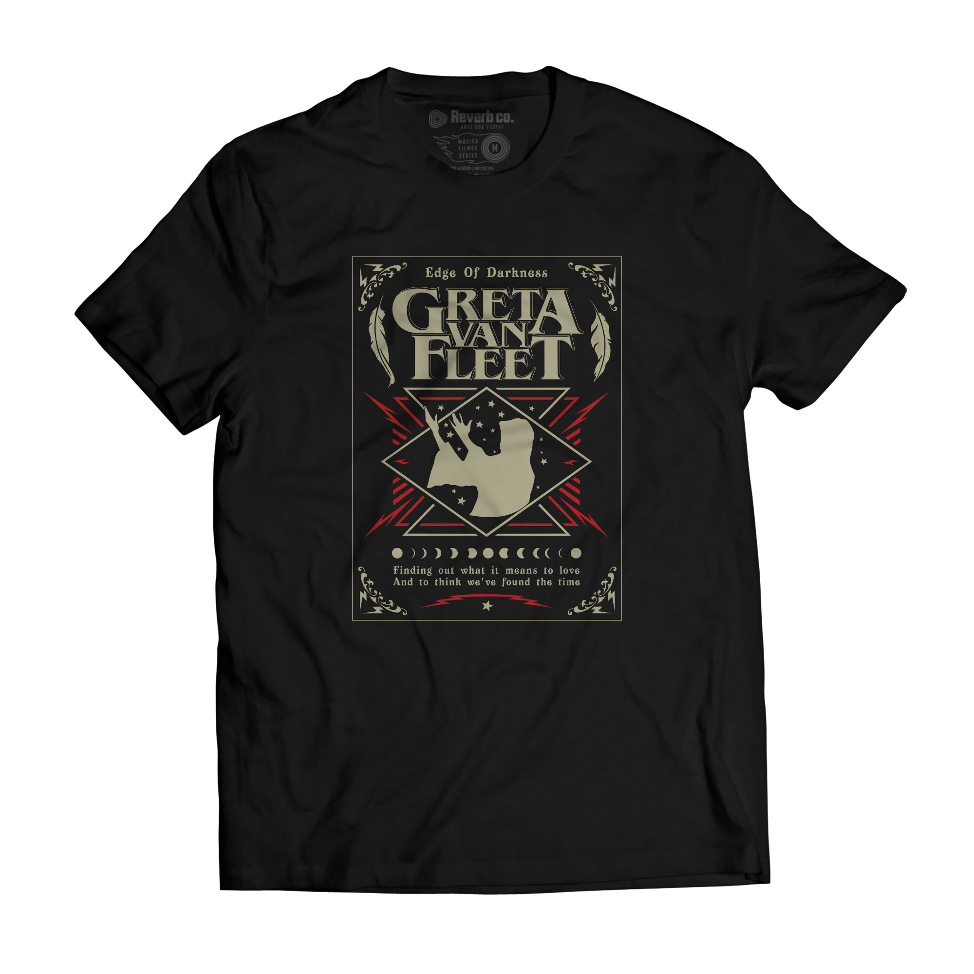 Camiseta Edge of Darkness - Greta Van Fleet - Masculino