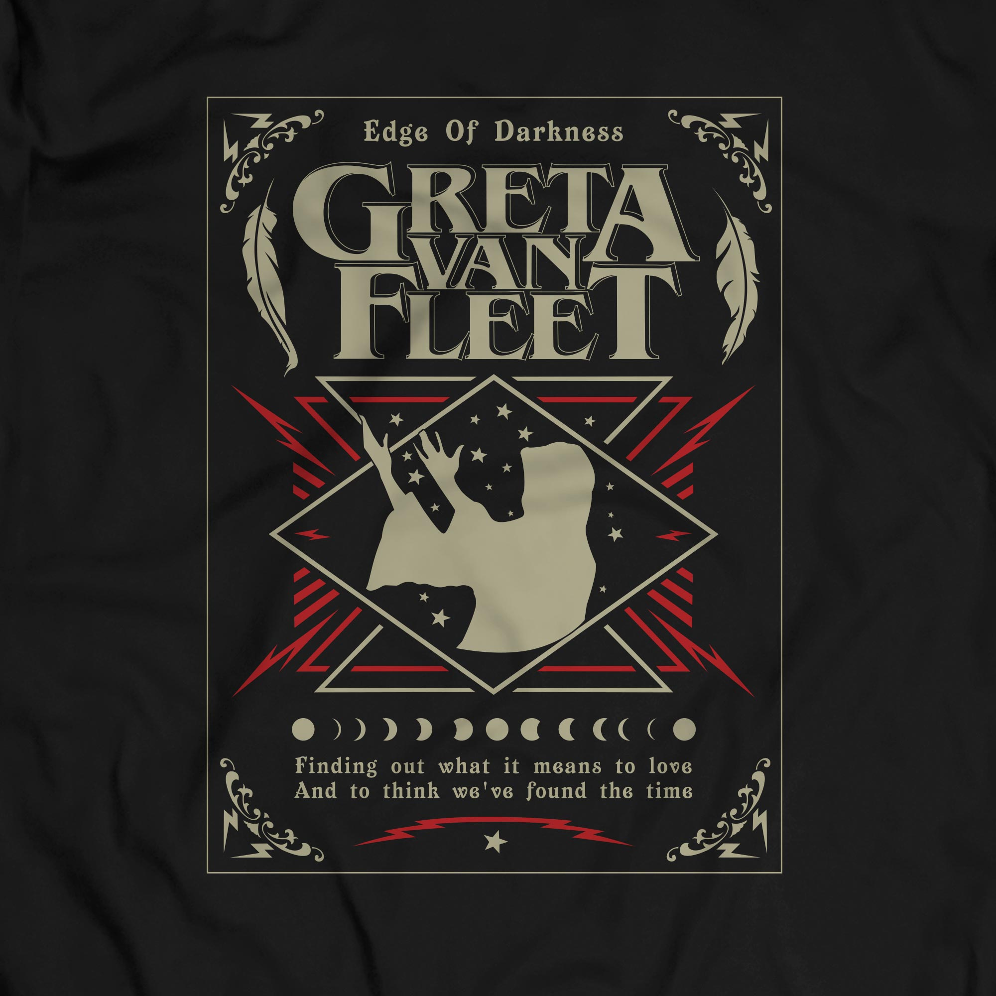 Camiseta Edge of Darkness - Greta Van Fleet - Masculino