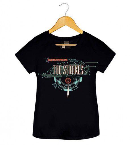 Camiseta - Electricityscape - The Strokes - Feminino