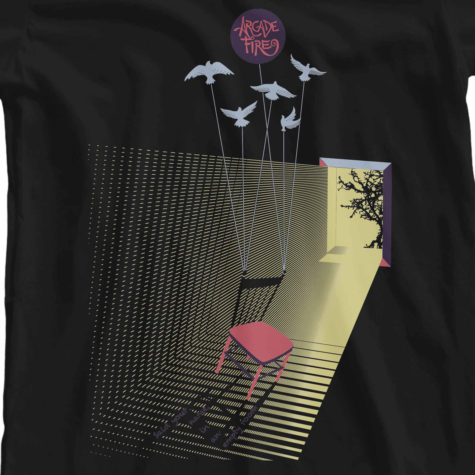 Camiseta Empty Room - Arcade Fire - Feminino