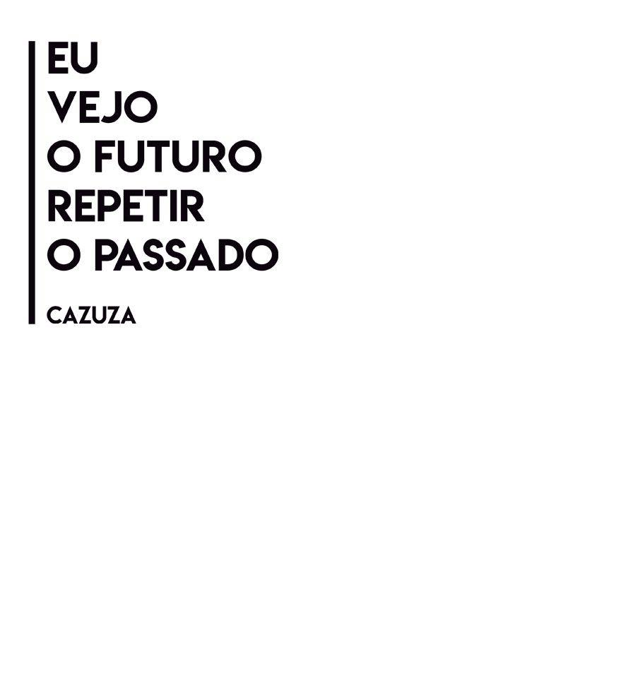 Camiseta - Eu Vejo O Futuro - Cazuza - Infantil
