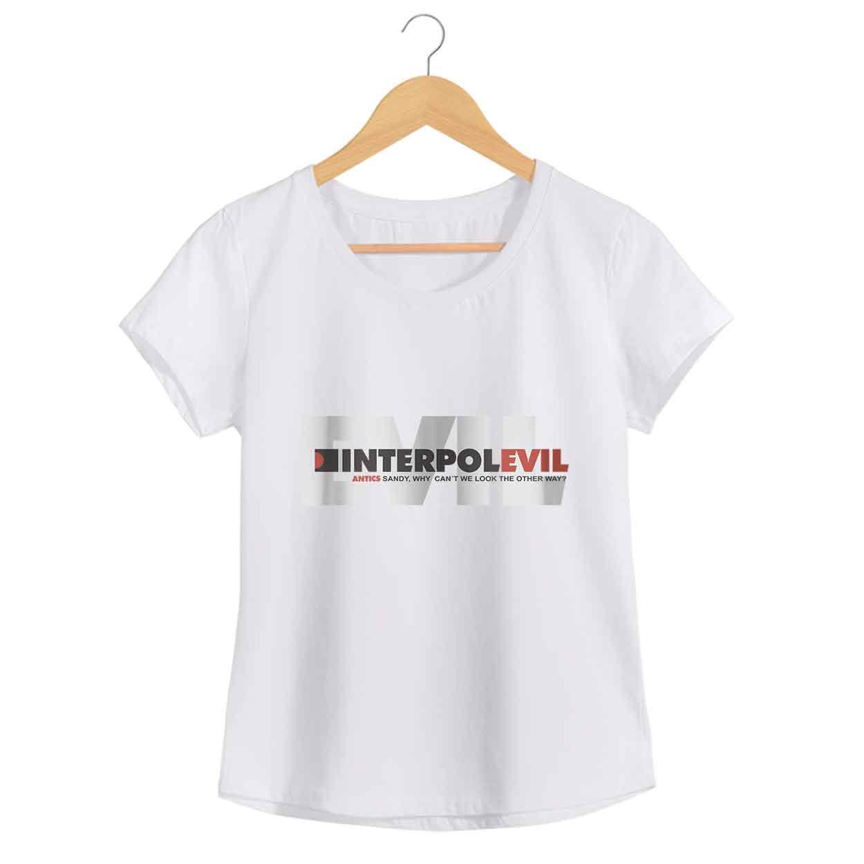 Camiseta - Evil - Interpol - Feminino