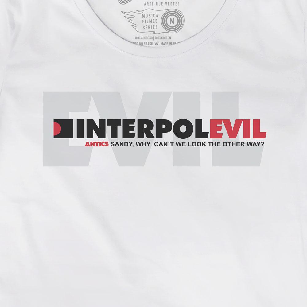 Camiseta Evil - Interpol - Feminino