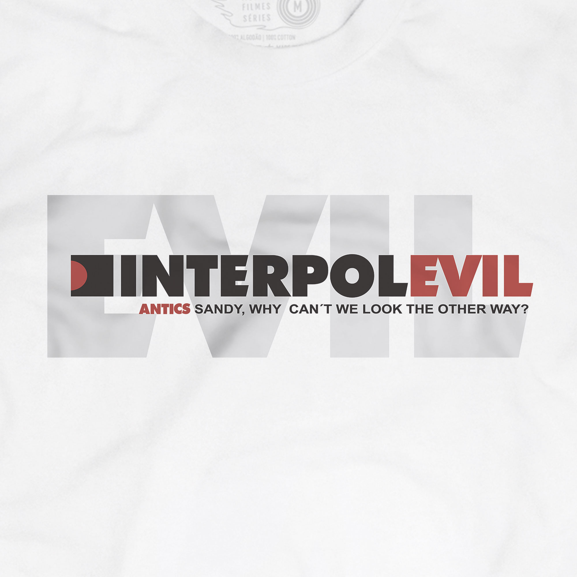 Camiseta Evil - Interpol - Masculino