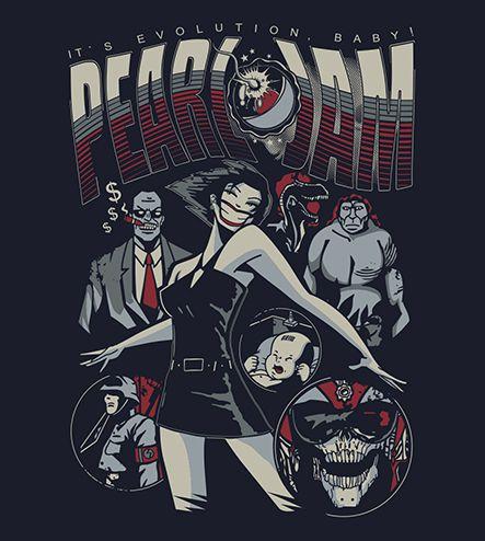 Camiseta - Evolution - Pearl Jam - Feminino
