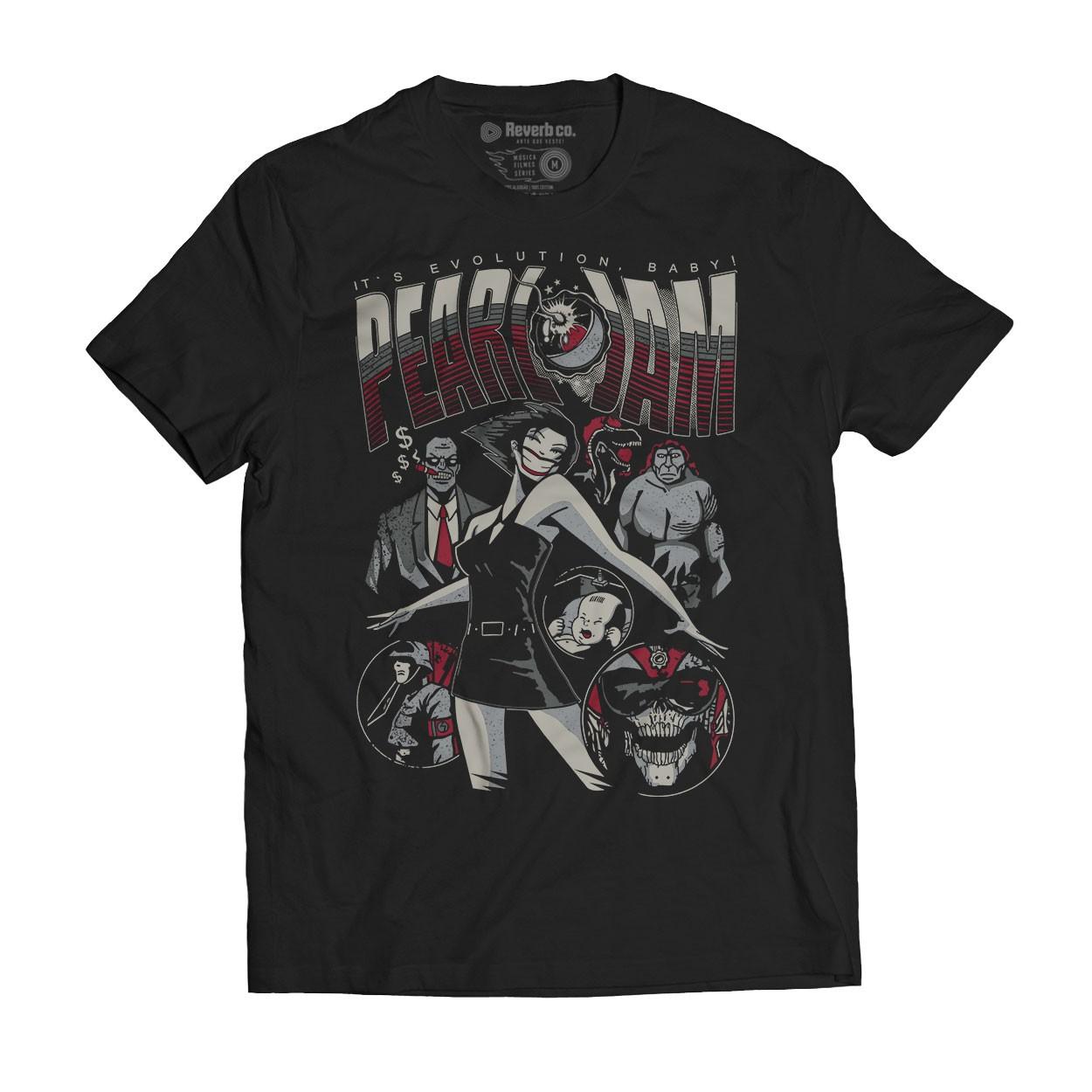 Camiseta Evolution - Pearl Jam - Masculino