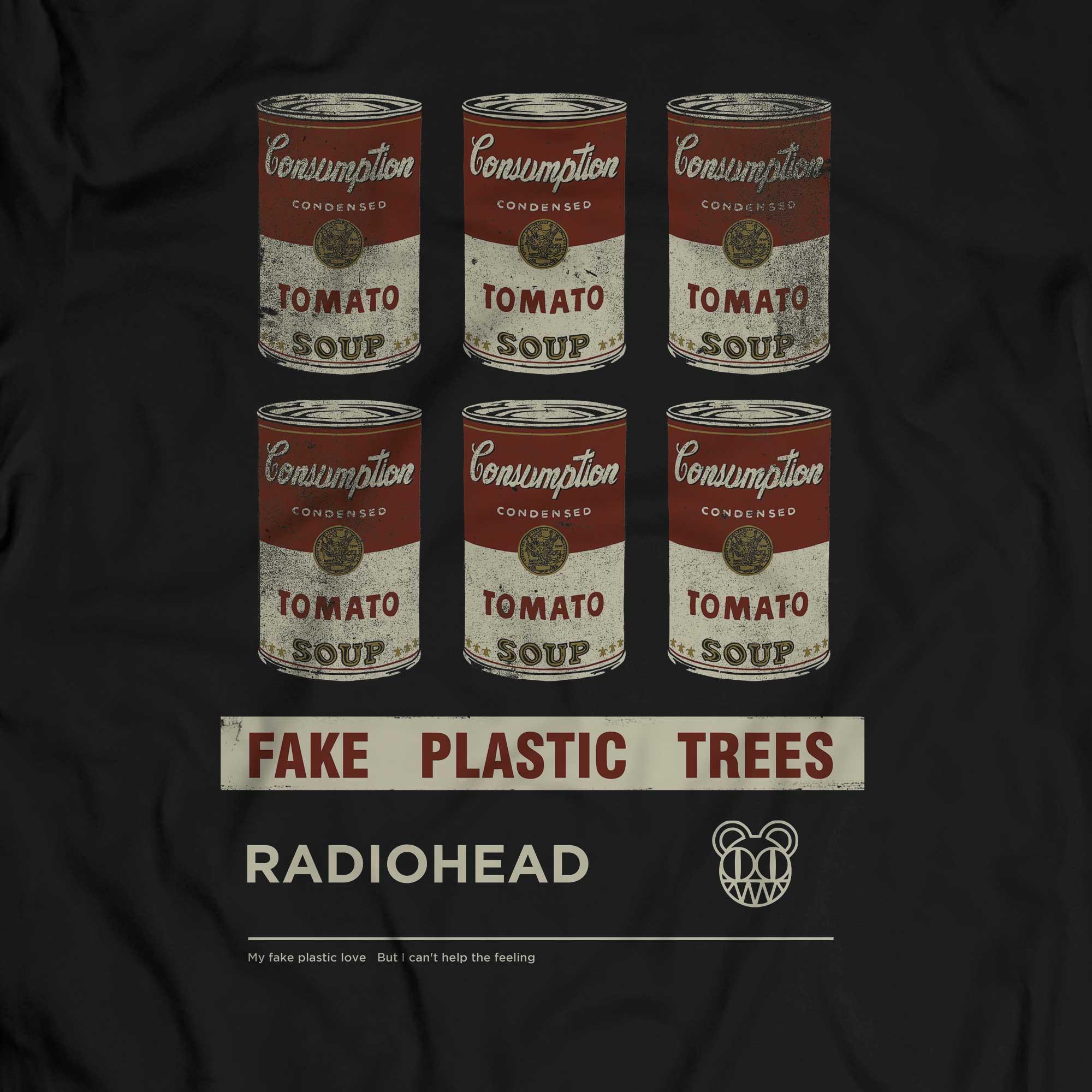 Camiseta Fake Plastic Trees - Radiohead - Masculino