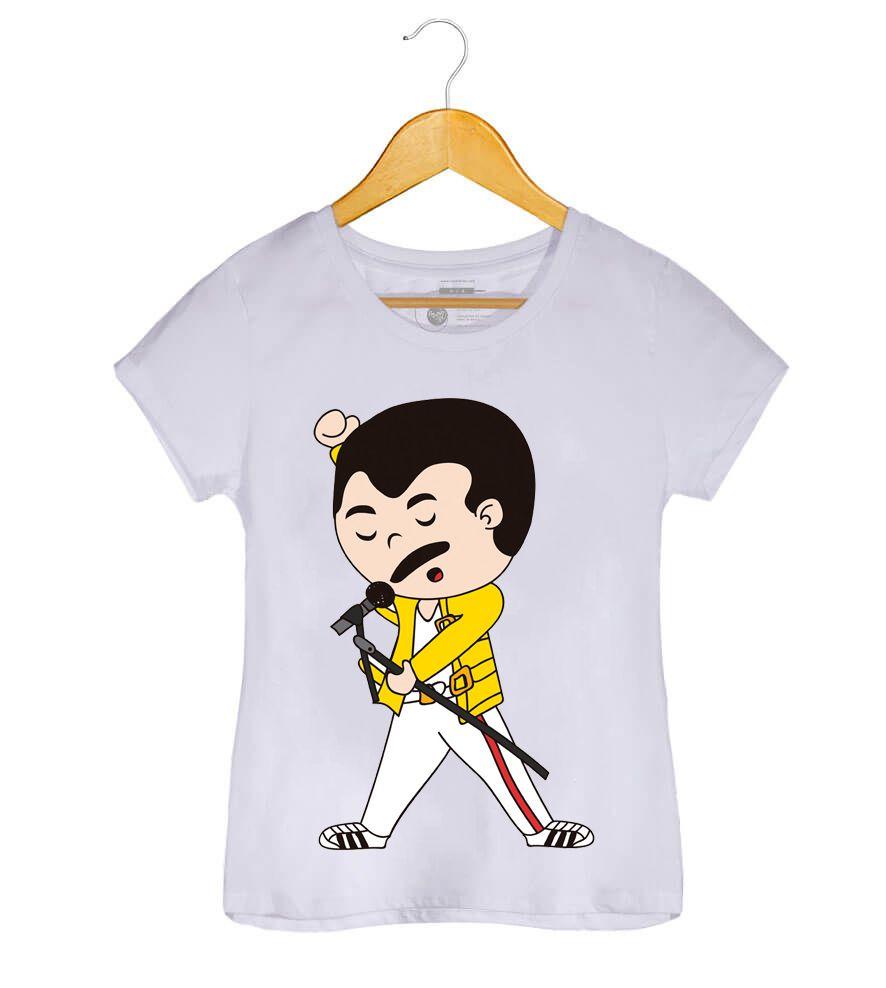 Camiseta - Farrokh Bulsara - Freddie Mercury - Feminino