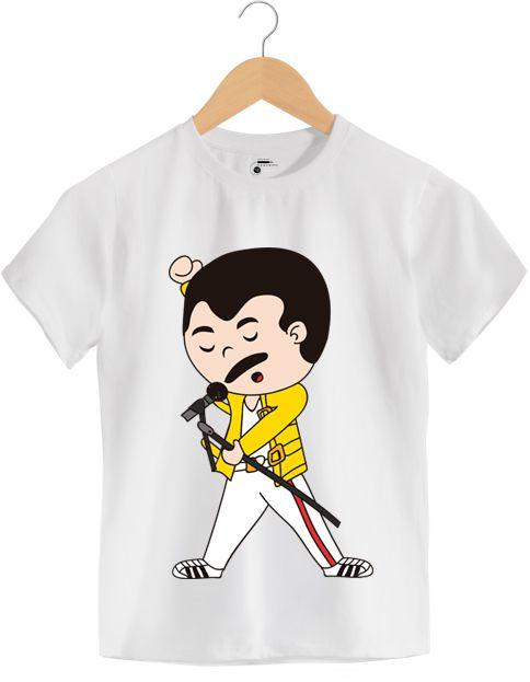 Camiseta - Farrokh Bulsara - Queen - Infantil