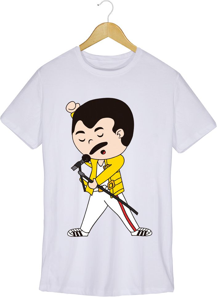 Camiseta - Farrokh Bulsara - Freddie Mercury -  Masculino