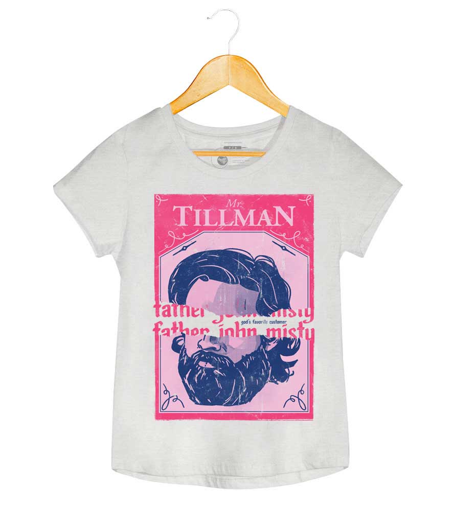 Camiseta - Father John Misty - Mr. Tillman  - Feminino