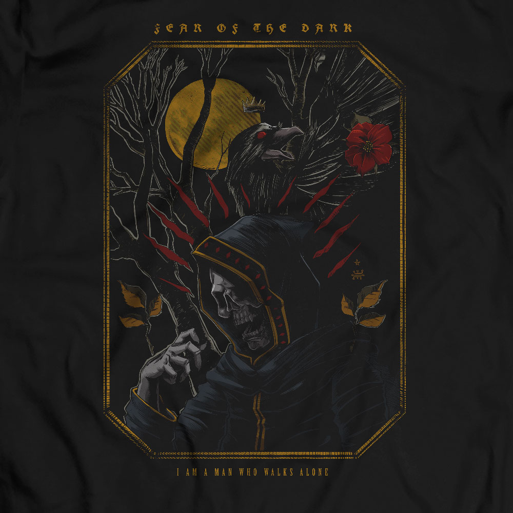 Camiseta Fear of the Dark - Masculino