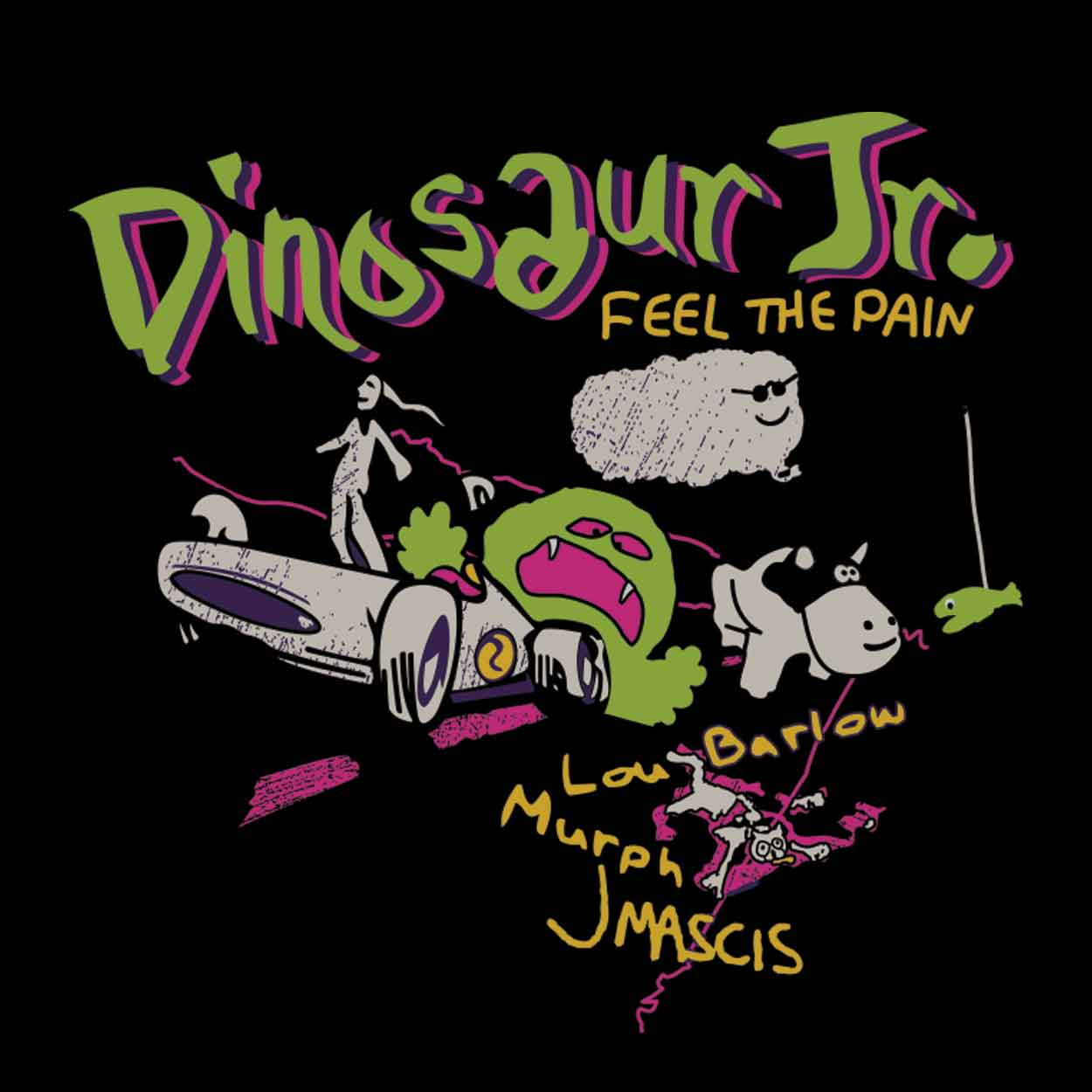 Camiseta - Feel The Pain - Dinosaur Jr. - Feminino