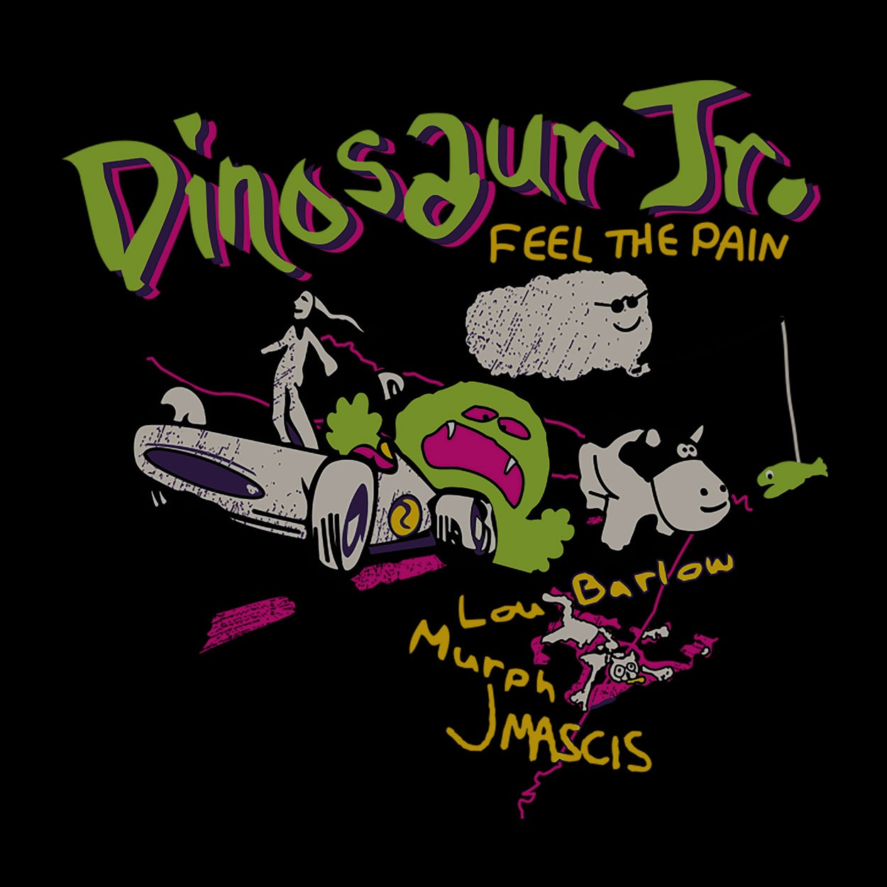 Camiseta Feel The Pain - Dinosaur Jr. - Feminino