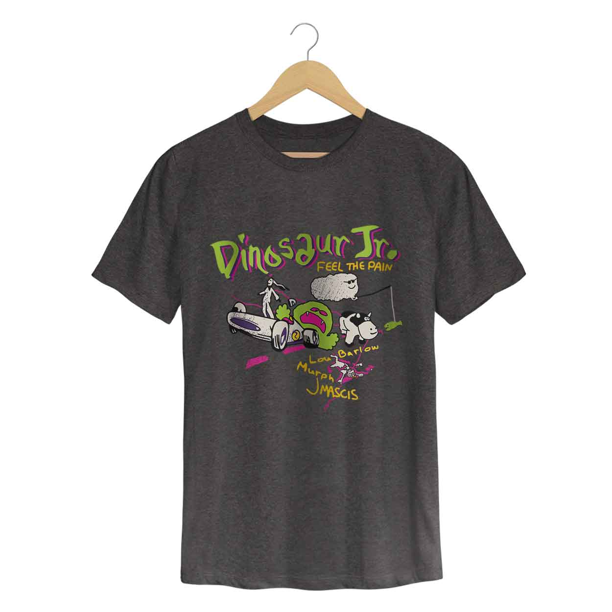 Camiseta Feel The Pain - Dinosaur Jr. - Masculino