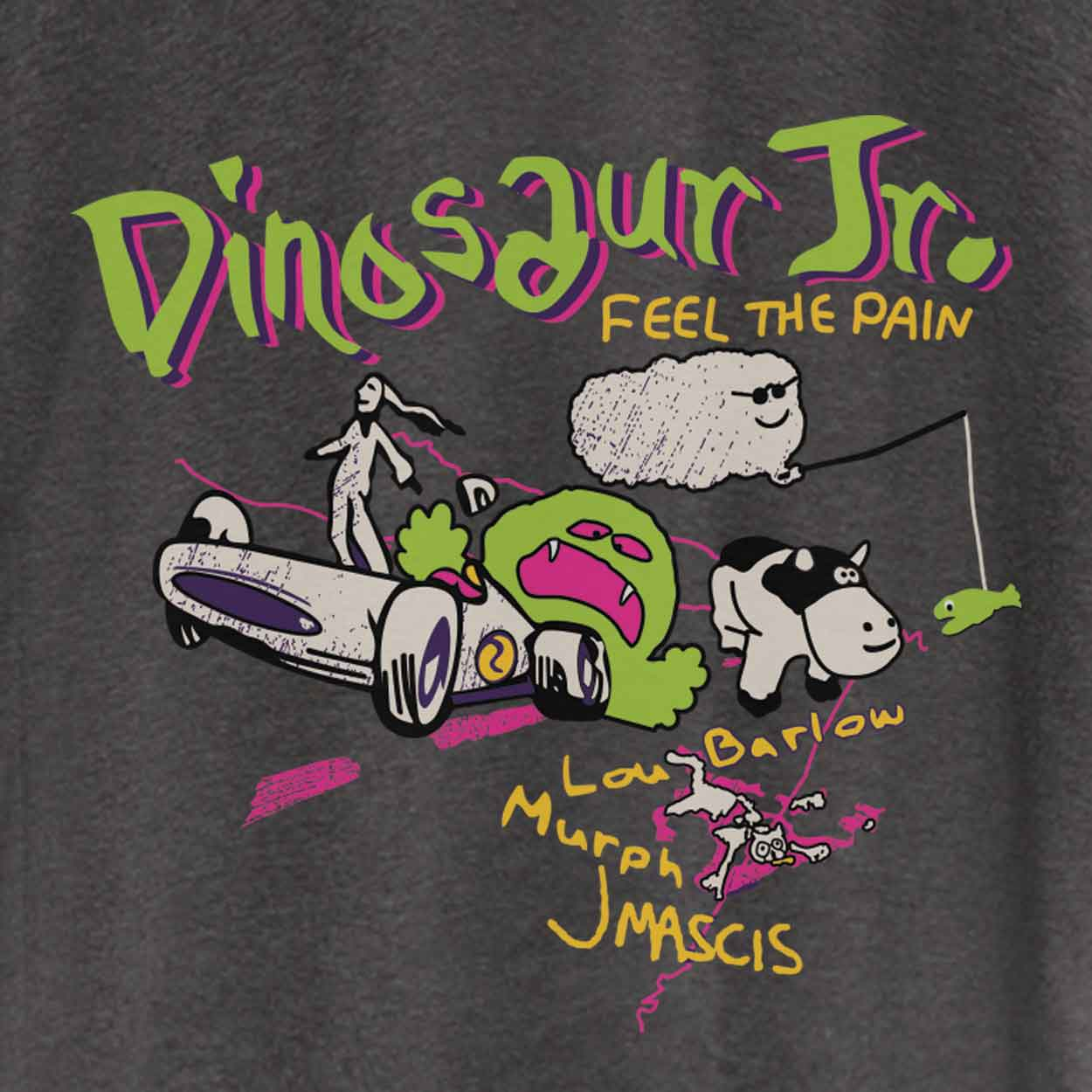 Camiseta - Feel The Pain - Dinosaur Jr. - Masculino