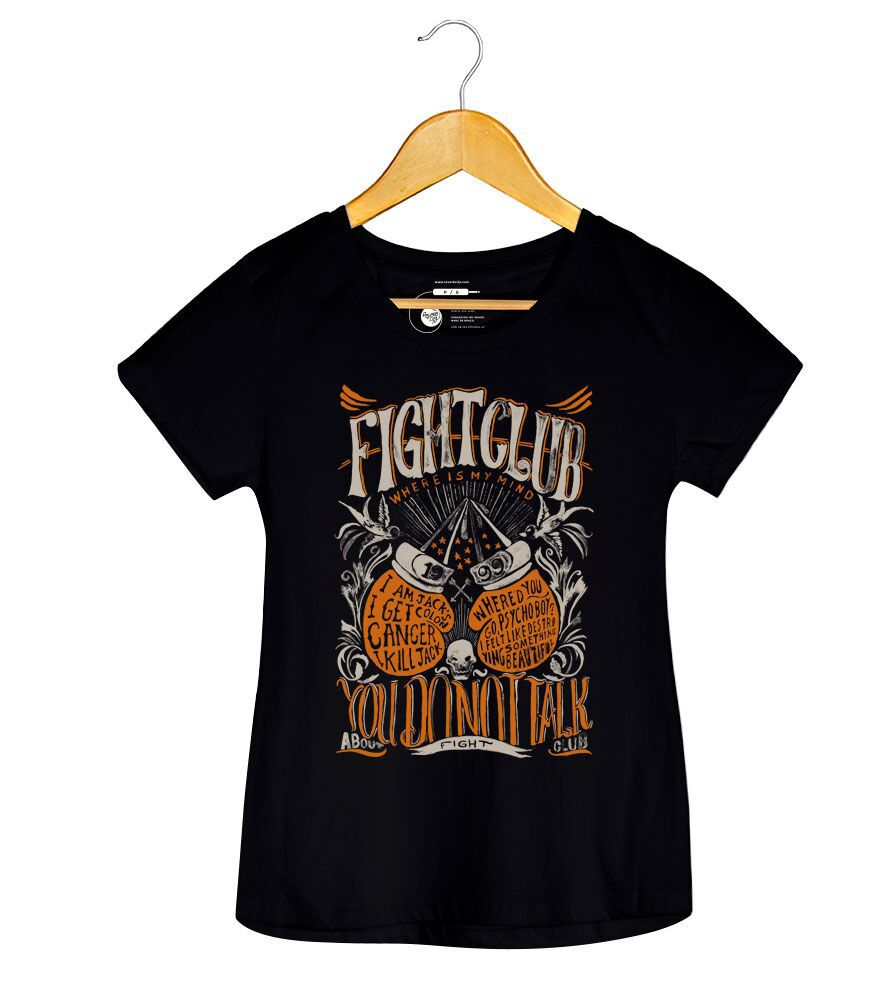Camiseta - Fight Club - Feminino