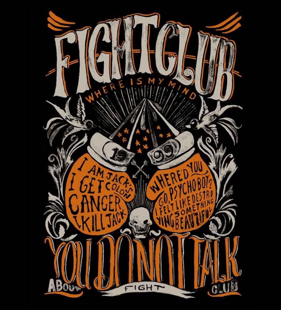 Camiseta Fight Club - Feminino
