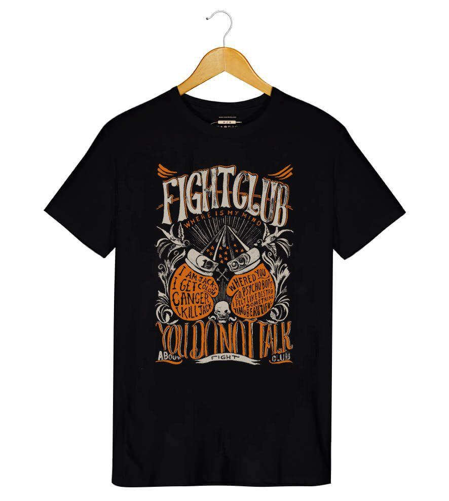 Camiseta - Fight Club - Masculino