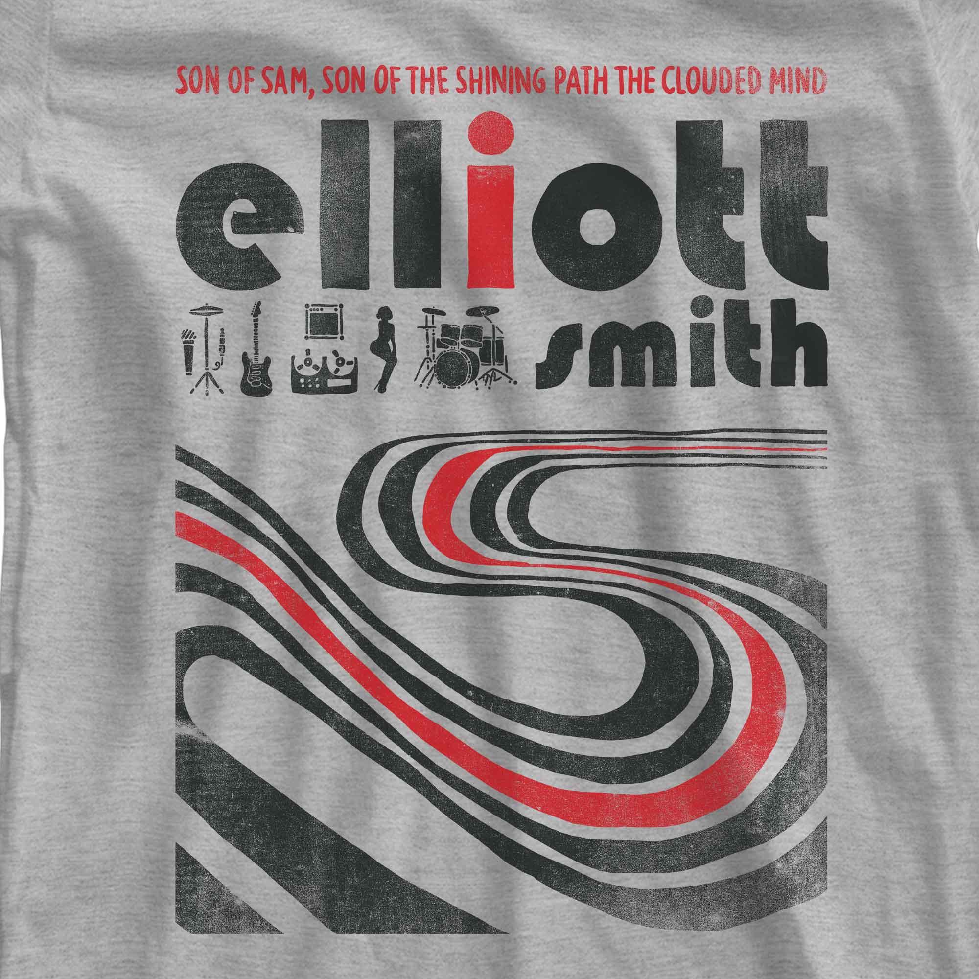 Camiseta Figure 8 - Elliott Smith - Feminino