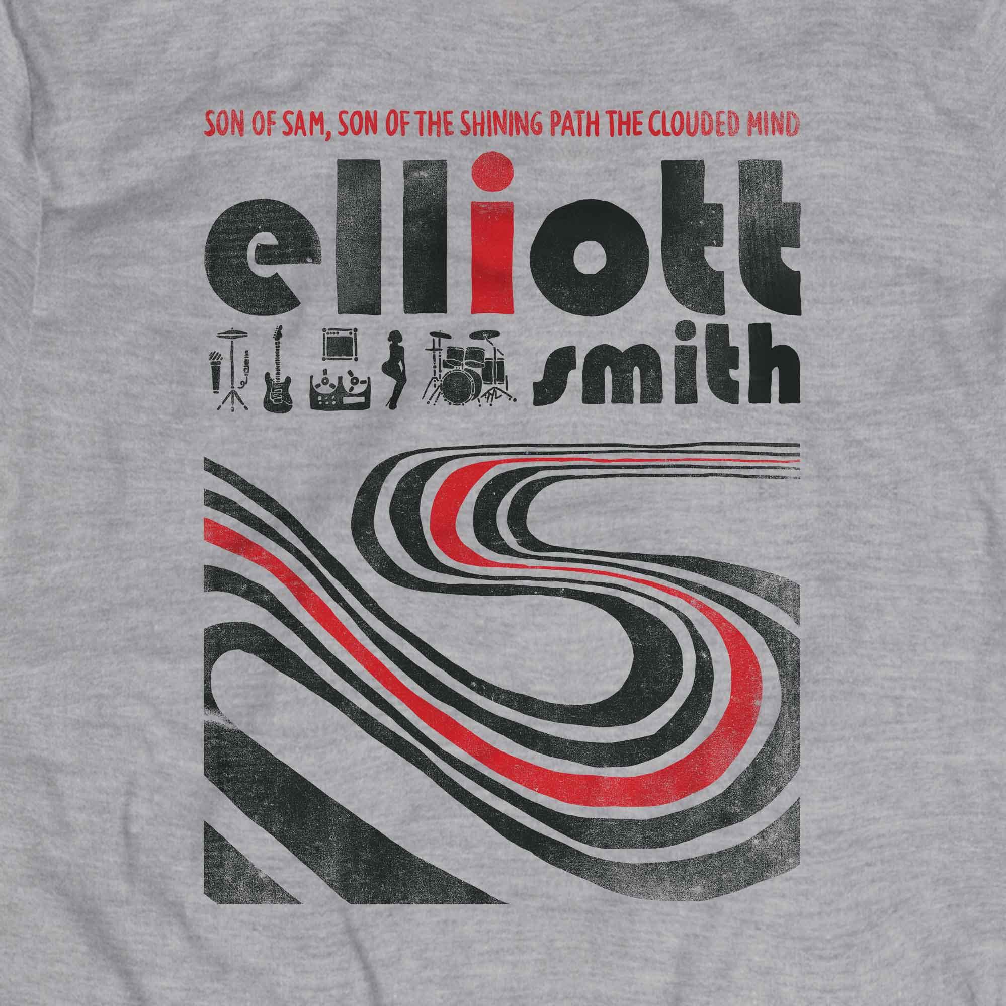 Camiseta Figure 8 - Elliott Smith - Masculino